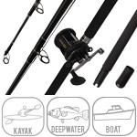 Penn Slammer 6ft6in Rod and 320LD Reel Boat Combo