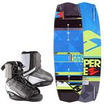 Hyperlite 2014 Forefront Wakeboard and Remix Boots Package