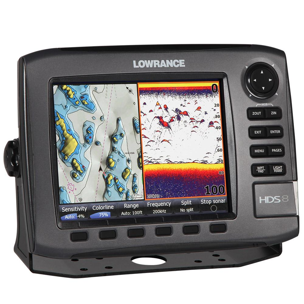 Lowrance hds8 gen 2 8in fish finder chartplotter buy for Lowrance fish locators