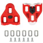 Look Delta Replacement Cleats - Red 9deg Float (Pair)