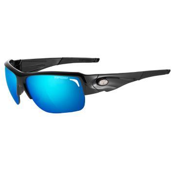Tifosi Elder Sunglasses Gloss Black With Spare Lenses