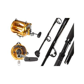 Sea striker billfisher rod and penn int 80vsw reel combo for Deep sea fishing rods and reels combo