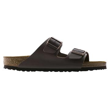 Birkenstock Arizona Birko-Flor Sandal  - Dark Brown