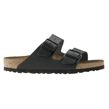 Birkenstock Arizona Smooth Leather Sandal - Black