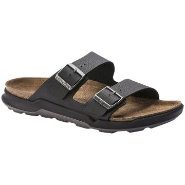 Birkenstock Men's Arizona Crosstown BirkoFlor - Black