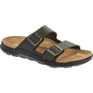 Birkenstock Men's Arizona Crosstown BirkoFlor - Khaki