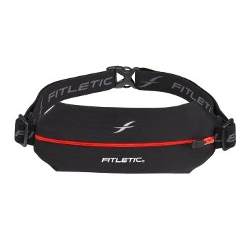 Fitletic Mini Sport Belt with Pouch - Black/Red