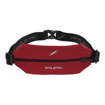 Fitletic Mini Sport Belt with Pouch - Chili Red