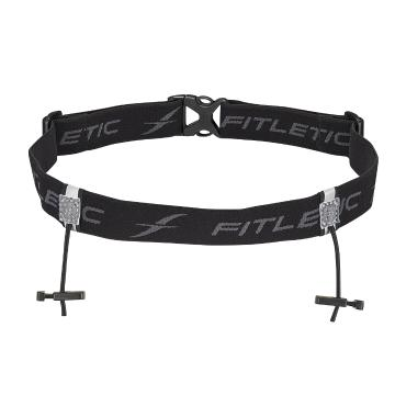 Fitletic Race Belt - Black/Grey