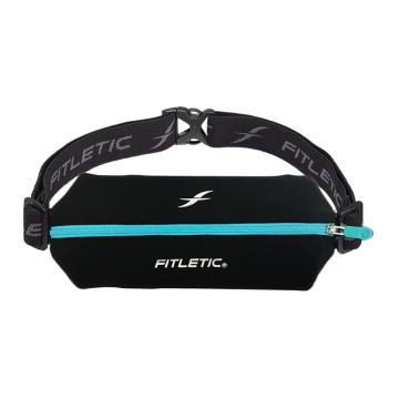 Fitletic Mini Sport Belt with Pouch - Blk/Tur Zip