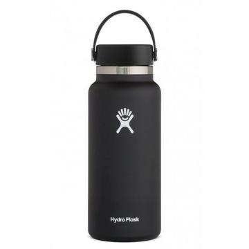 Hydro Flask Vacuum Insulated Flask 946ml - Black