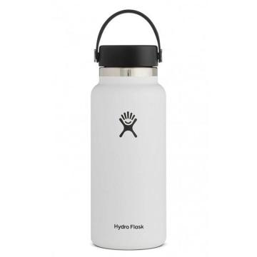 Hydro Flask Vacuum Insulated Flask 946ml - White