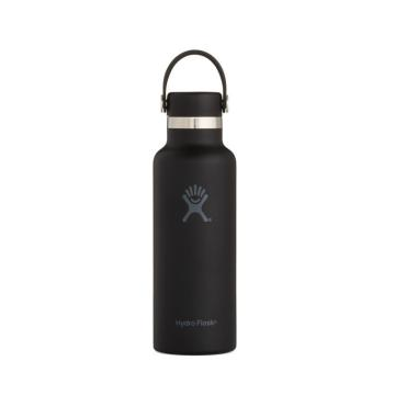 Hydro Flask Vacuum Insulated Bottle 532ml - Black