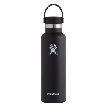 Hydro Flask Vacuum Insulated Bottle 621ml - Black
