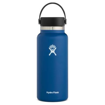 Hydro Flask 946ml Wide Mouth Bottle - Cobalt