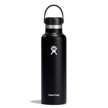 Hydro Flask Vacuum Insulated Bottle 621ml - Black