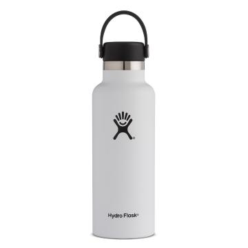 Hydro Flask Vacuum Insulated Bottle 532ml - White