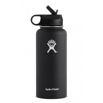 Hydro Flask Vacuum Insulated Flask 946ml - Black