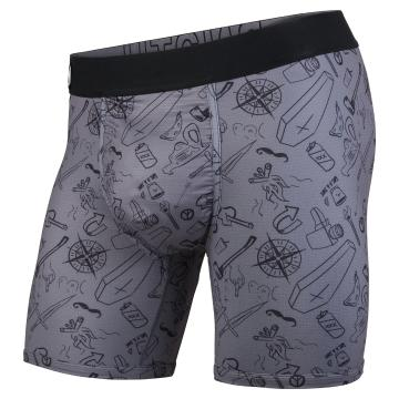 Bn3th Mens Entourage Boxer Brief - Moral Compass/Charcoal