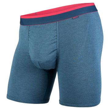 Bn3th Mens Classic Boxer Briefs - Ink Heather/Pink