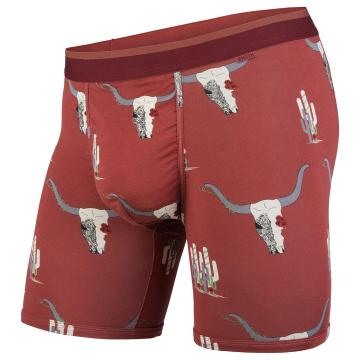 Bn3th Men's Classic Boxer Briefs - Desert Rose Terra Cotta