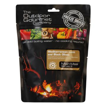 The Outdoor Gourmet Company Two Serve Meal - Mediterranean Lamb