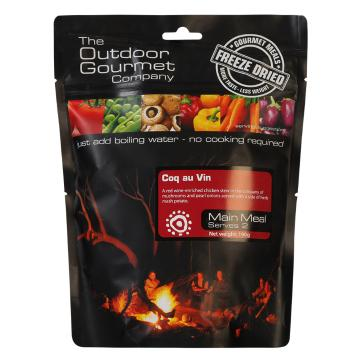 The Outdoor Gourmet Company Two Serve Meal - Coq au Vin