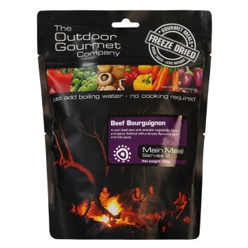 The Outdoor Gourmet Company Two Serve Meal - Beef Bourguignon