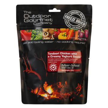 The Outdoor Gourmet Company Two Serve Meal - Tandoori Chicken