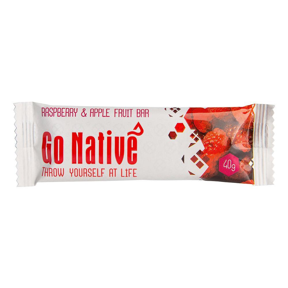 Go Native Raspberry & Apple Fruit Bar - 40g