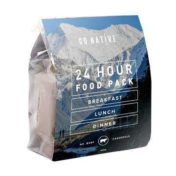 Go Native 24hr Food Pack - Beef Casserole (Coffee)