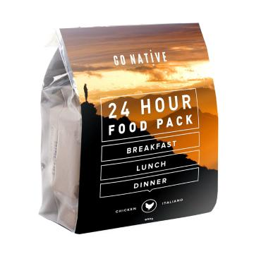 Go Native 24hr Food Pack - Chicken Italiano (Coffee)