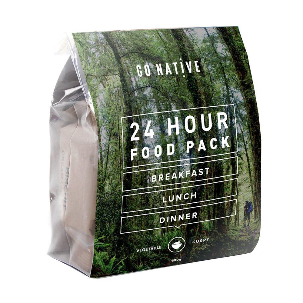 24hr Food Pack - Vegetable Curry (Coffee)