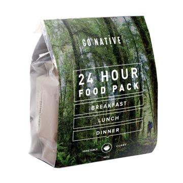 Go Native 24hr Food Pack - Vegetable Curry (Coffee)