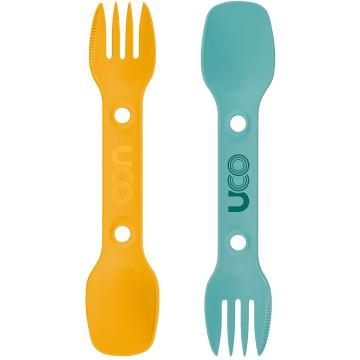 UCO Utility Spork 2-Pack with Tether