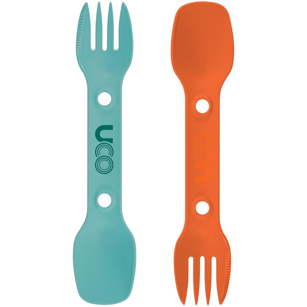Utility Spork 2-Pack with Tether