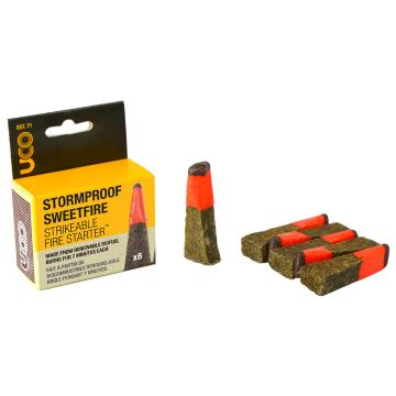 UCO StormProof SweetFire Tinder 8-pk