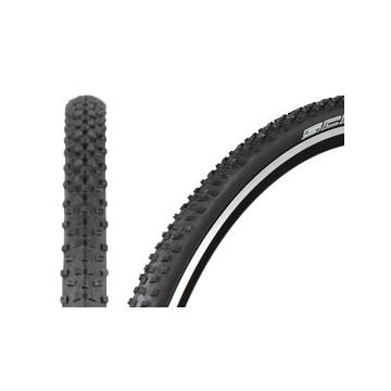 Schwalbe Rocket Ron CycloX Tyre Evo Folding Black 700 x 33c - Black