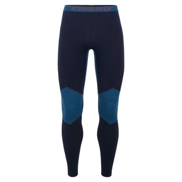Icebreaker Men's 260 Zone Leggings - Midnight Navy/PRUSSIAN BLUE