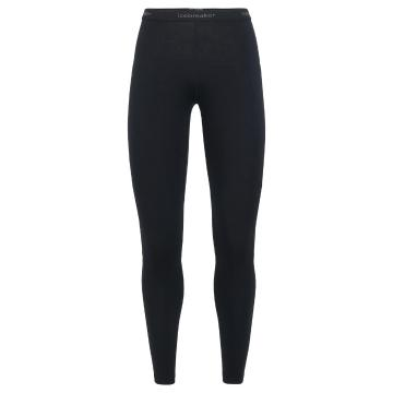 Icebreaker Women's 200 Zone Leggings - Black/Mineral