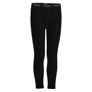 Icebreaker Kid's 200 Oasis Leggings - Black