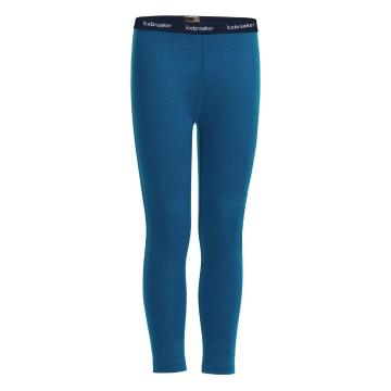 Icebreaker Kid's 200 Oasis Leggings - Prussian Blue