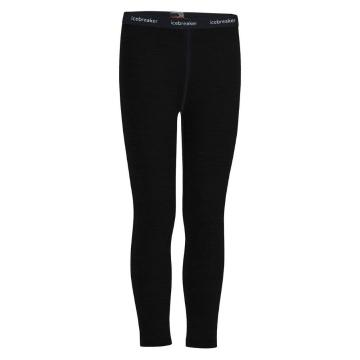 Icebreaker Kids 200 Oasis Leggings - Black