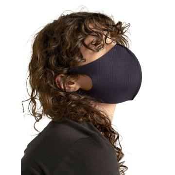 Icebreaker Unisex Merino Face Covering - Midnight Navy