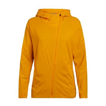 Icebreaker Women's Tropos Hooded Windbreaker - Sun