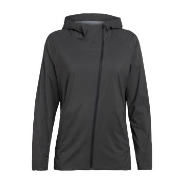 Icebreaker Women's Tropos Hooded Windbreaker - Monsoon