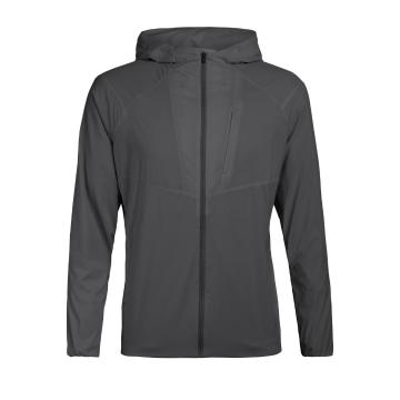 Icebreaker Men's Tropos Hooded Windbreaker - Monsoon