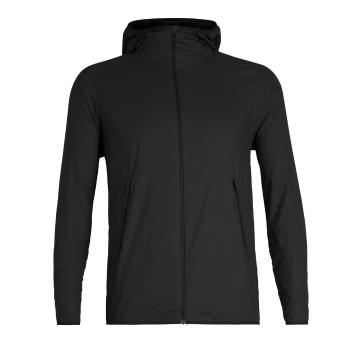 Icebreaker Men's Coriolis II Hooded Windbreaker - Black