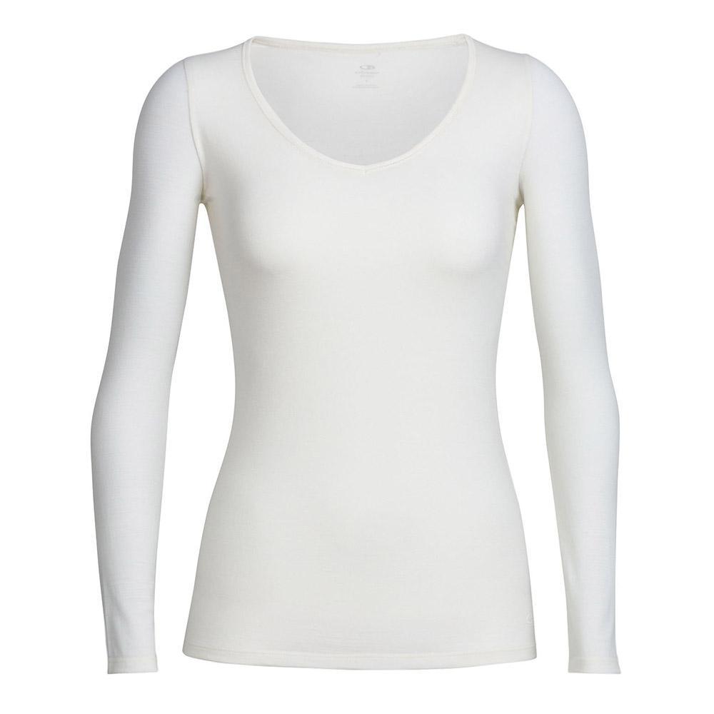 Merino Women's Siren Long Sleeve Sweetheart Top