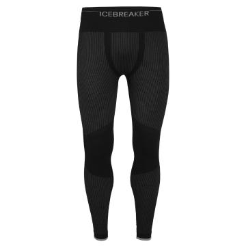 Icebreaker Men's 200 Zone Seamless Leggings - Black